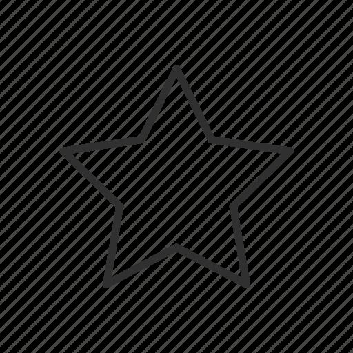 adobe illustrator, shape, star, star tool icon
