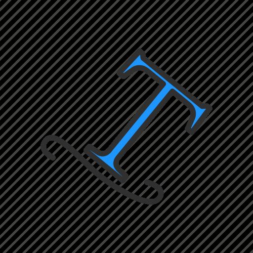 italic text, text, text tool, type on path icon
