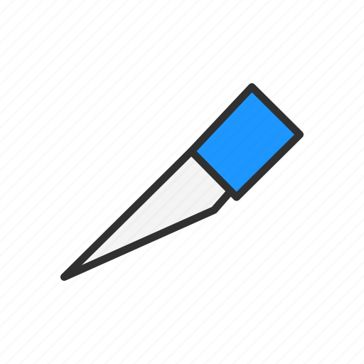 cut, knife, slice, slice tool icon