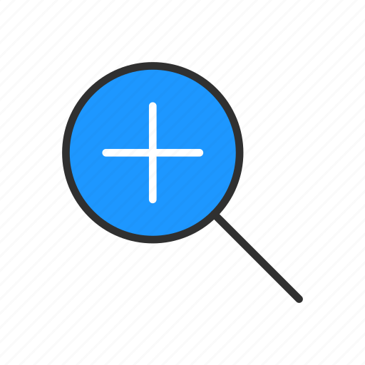 magnify, search, zoom, zoom in icon