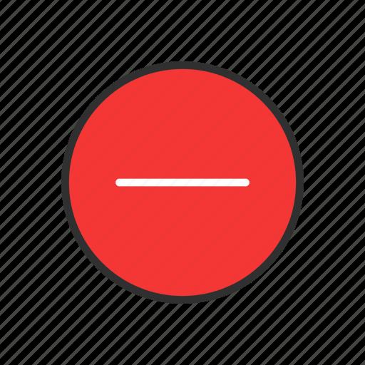block, delete button, erase, remove icon