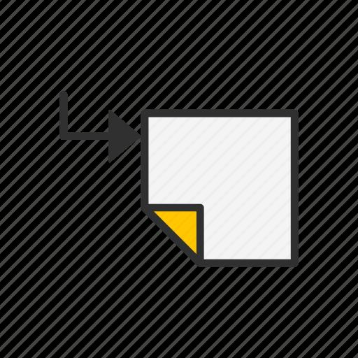 create new sublayer, duplicate, file, paper icon