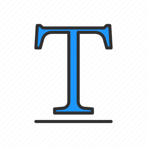 letters, text, text tool, words icon