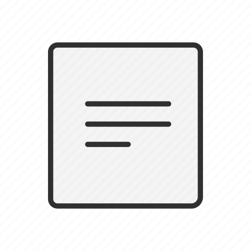 document, format, letter, note icon