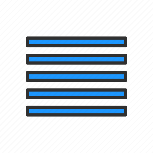 align tool, alignment, justified, mail icon