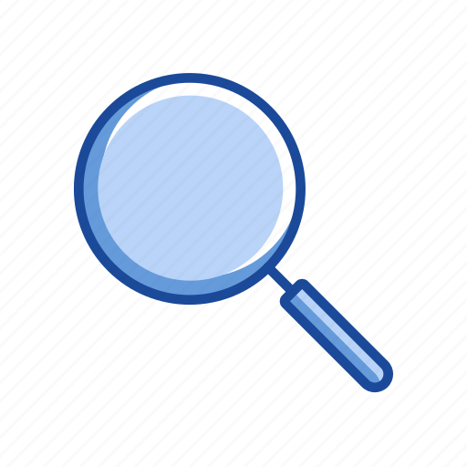 browse, magnify, magnifying glass, search icon