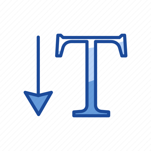 font, text, type, vertical type tool icon