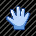 cursor, hand, navigation, stop icon