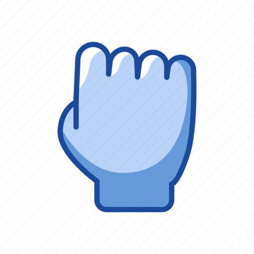 fist, grab, grab cursor, hand icon