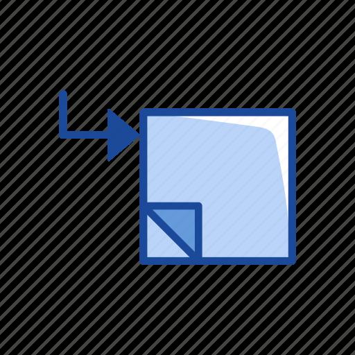 copy, new file, paper, transfer file icon