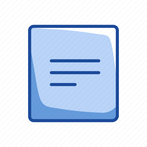 document, note, sheet, text icon