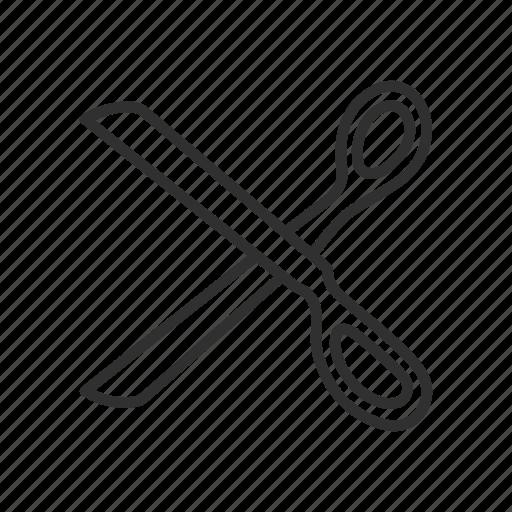 cut, scissor, scissor tool, tailor icon