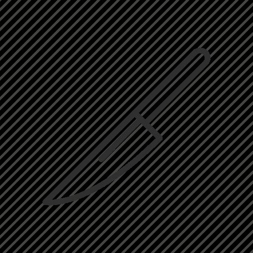 cut, knife, slice, slice tool icon