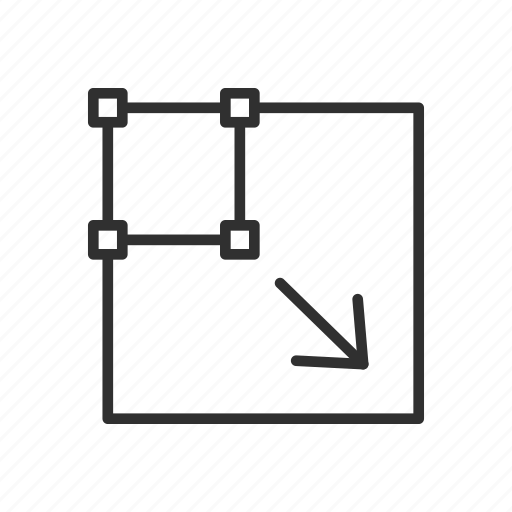 Arrow photoshop scale tool square icon icon search engine arrow photoshop scale tool square icon ccuart Choice Image