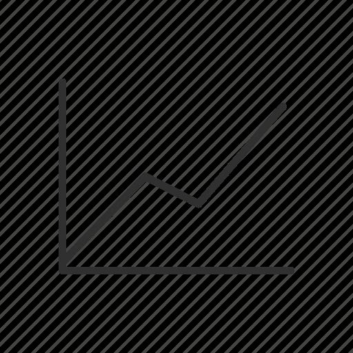 graph, line graph, lines, photoshop icon