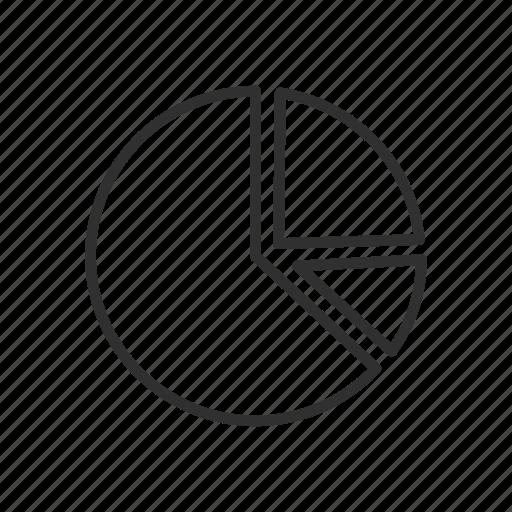 adobe tool, chart, data, pie graph icon
