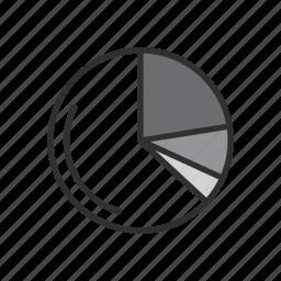 chart, graph, photoshop, pie graph icon