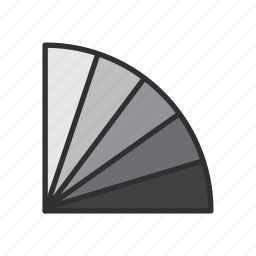 adobe tool, colore guide tool, photoshop, twisted fan icon