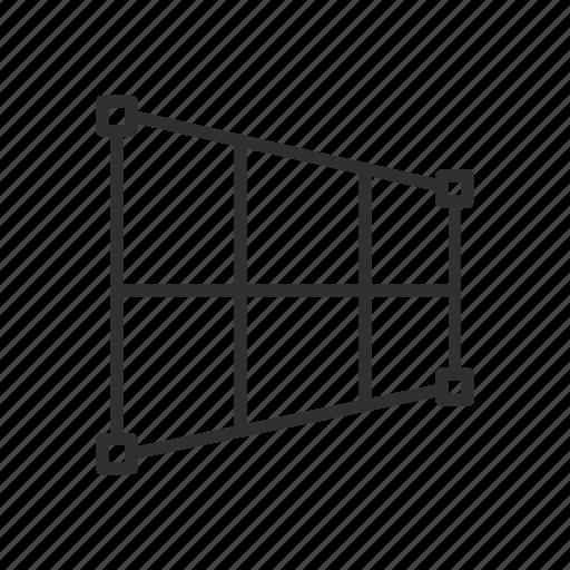 adobe tools, perspective crop, photoshop, squares icon