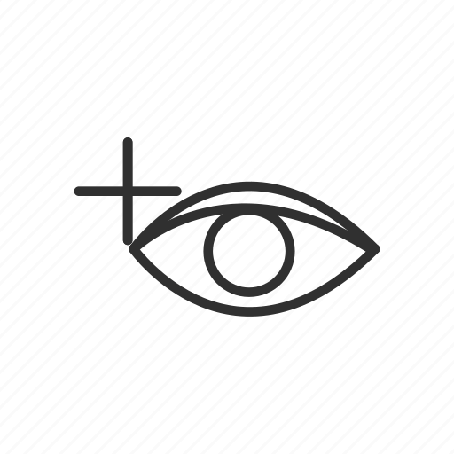 adobe tool, eye, photoshop, red eye tool icon
