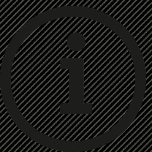 Information icon - Download on Iconfinder on Iconfinder