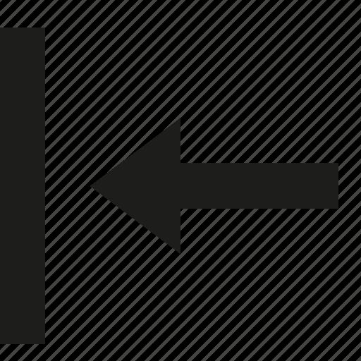 left, move icon