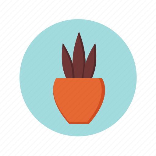 business, flower, interior, leaf, office, plant, pot, potted icon