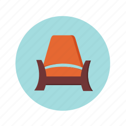 chair, couch, furniture, home, house, interior, relax, rest icon