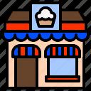 bakehouse, bakery, building, establishment, pastry, shop