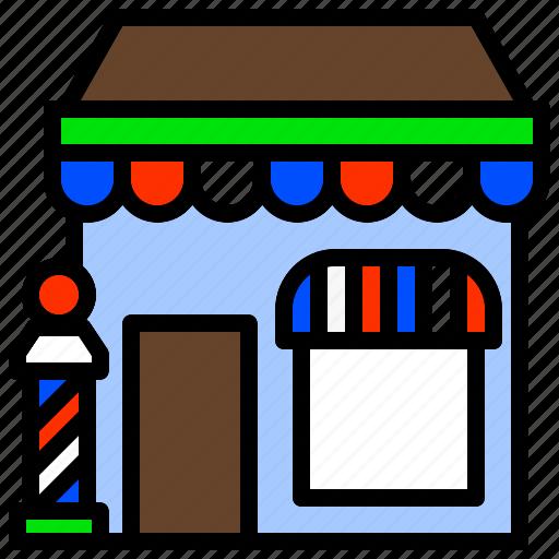 Barber, barbershop, boutique, hairdresser, salon icon - Download on Iconfinder