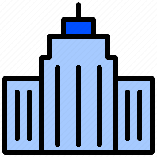 Building, construction, edifice, fabric, house icon - Download on Iconfinder