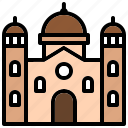 basilica, cathedral, chancel, sanctuary, temple icon