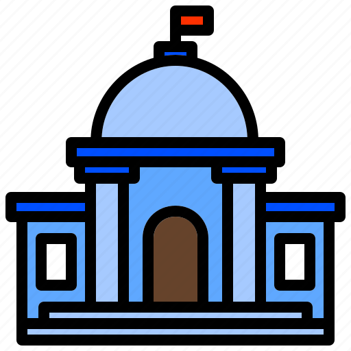 Administration, building, government, polity, state icon - Download on Iconfinder