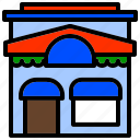 foodstuff, grocery, market, marketplace, mart icon