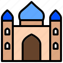 devout, mahometan, mosque, sacred, temple icon