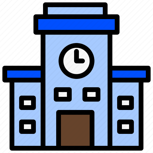 Academy, institute, institution, school, university icon - Download on Iconfinder