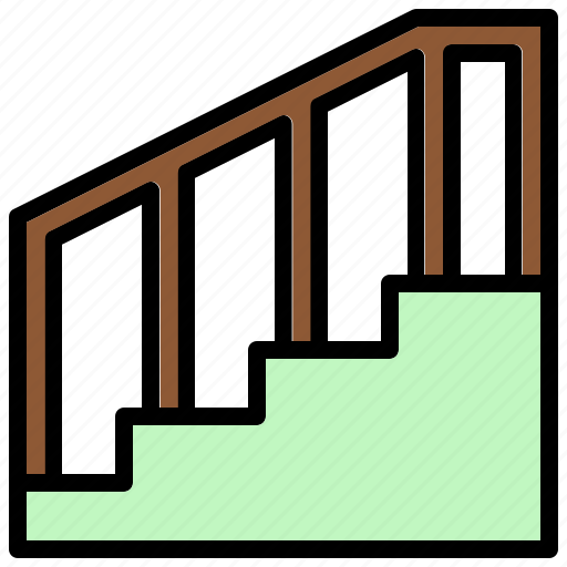 Ladder, staircase, stairs, stairway, steps icon - Download on Iconfinder