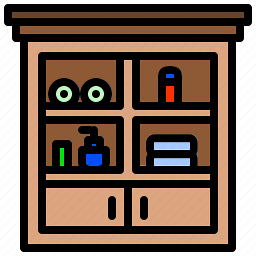 Cabinet, den, furniture, services, shelf, toilet icon - Download on Iconfinder