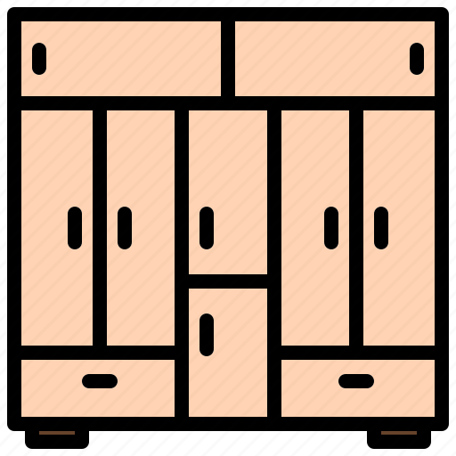 changing, checkroom, cloakroom, furniture, room, wardrobe icon