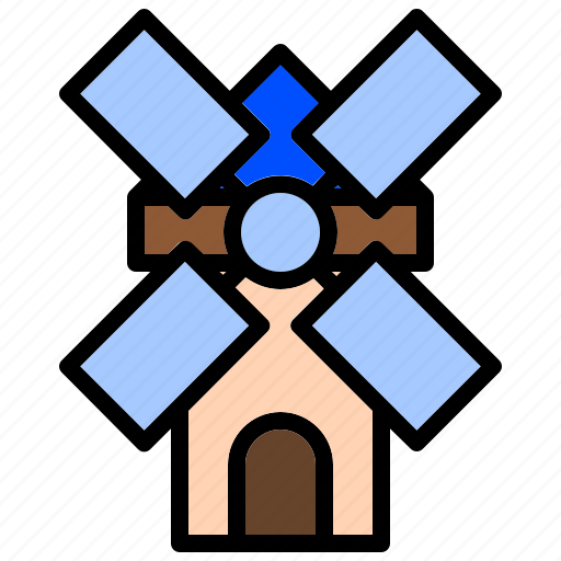Clean, ecology, farm, power, windmill icon - Download on Iconfinder