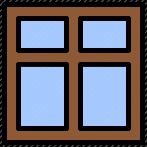 aperture, deadlight, interior, structure, window icon
