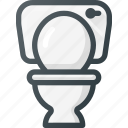 bathroom, restroom, toilet icon