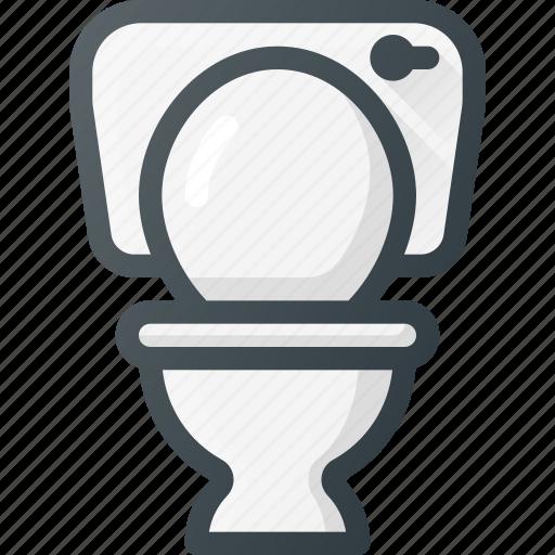bathroom, restroom, toilet icon