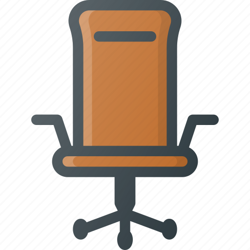 chair, furniture, office, rotate icon