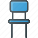 chair, decoration, furniture, interior, seat icon