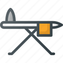 board, household, iron, ironing, laundry, table icon
