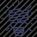 bulb, lamp, power, spiral