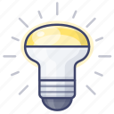 bulb, energy, lamp, saving icon