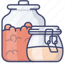 container, food, jars, storage icon