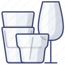 cup, drink, glass, glassware icon